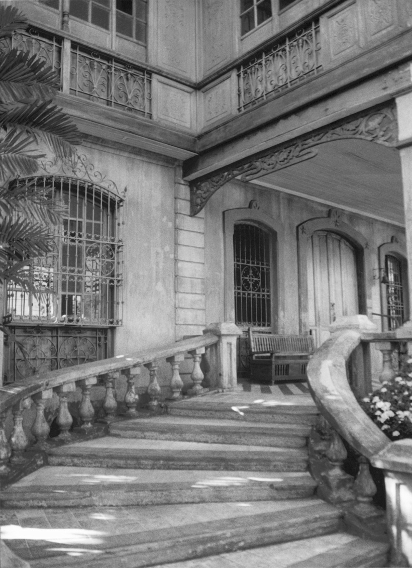ArchiBCD old stairs BW